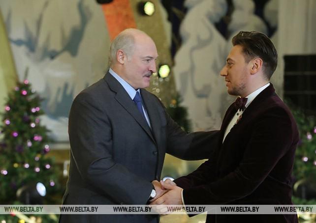 Церемония вручения государственных наград состоялась на приеме от имени Президента Беларуси Александра Лукашенко