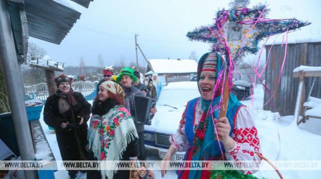 Щедрец отпраздновали в Минской области
