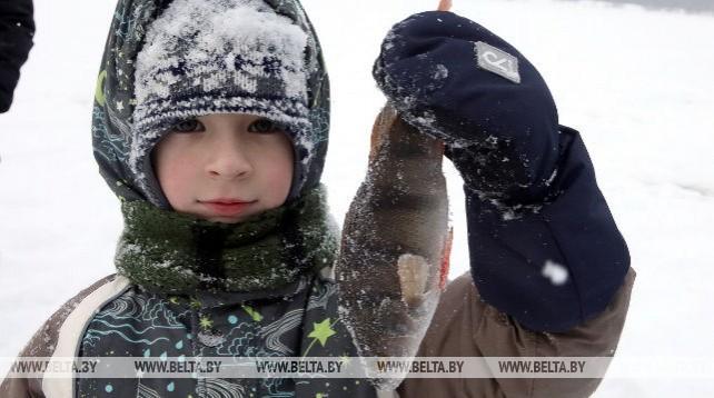 Соревнования по зимней ловле на мормышку прошли в Гомеле