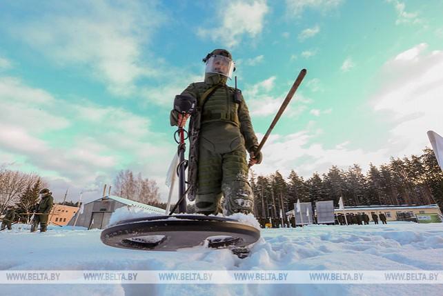 Более 22 тыс. взрывоопасных предметов обезвредили белорусские военные в 2018 году