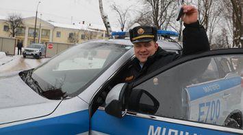 Автопарк Могилевского областного управления Департамента охраны МВД пополнили 14 машин