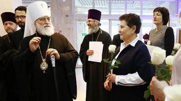 Министр здравоохранения и митрополит Павел посетили РНПЦ детской онкологии, гематологии и иммунологии