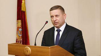 Лавринович: создание новых предприятий и рабочих мест - приоритетные задачи для Гродненской области
