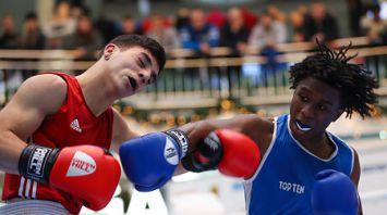 Боксеры трех стран провели матчевую встречу в Минске