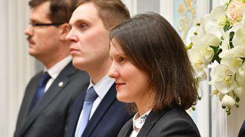 Экскурсия для сотрудников МИД прошла во Дворце Независимости