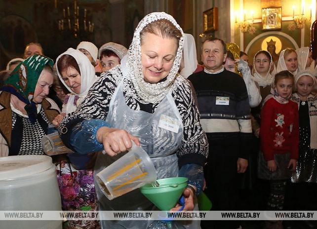Православные верующие отпраздновали Крещение Господне
