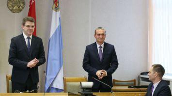 Кухарев представил нового министра транспорта и коммуникаций коллективу
