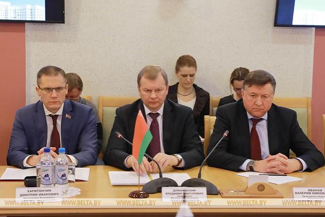 Могилевская и Новосибирская области намерены развивать межрегиональное сотрудничество