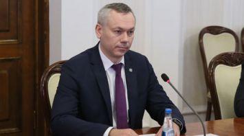 Румас встретился с губернатором Новосибирской области