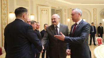 Лукашенко встретился с губернатором Новосибирской области