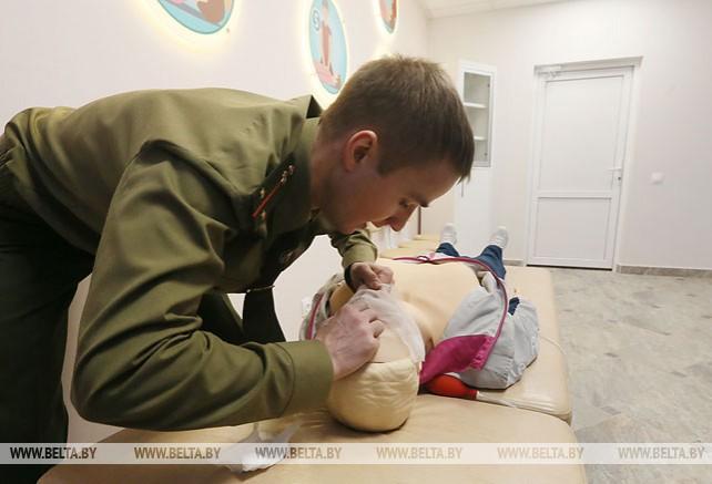 Областной центр безопасности МЧС открыли в Борисове