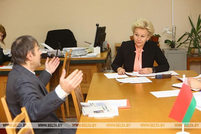 Костевич провела прием граждан