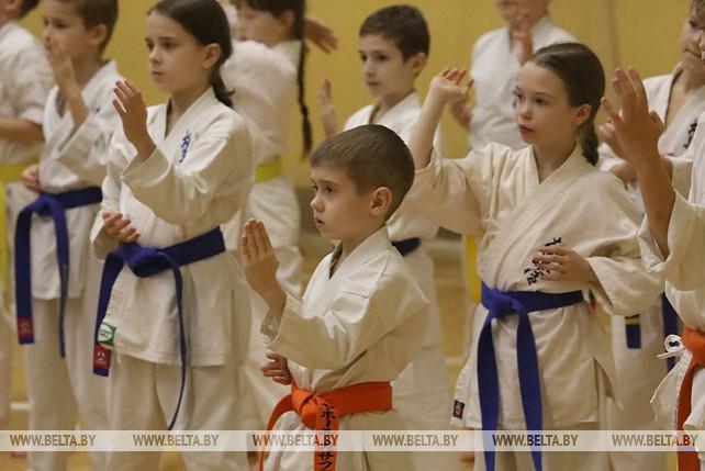 Инструкторы из Японии обучали в Гомеле каратистов из разных стран