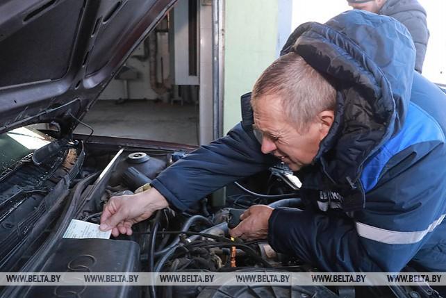 В Могилевской области водители могут пройти техосмотр на 25 станциях диагностики