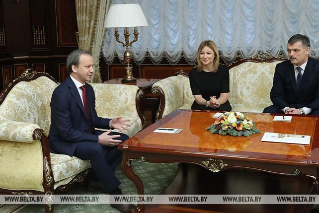 Лукашенко обсудил с Дворковичем развитие в Беларуси шахматного спорта и проведение всемирной олимпиады