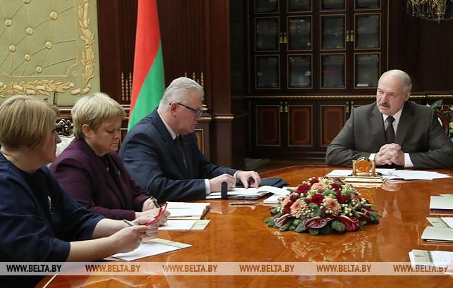 Лукашенко провел совещание по теме развития национальной системы образования