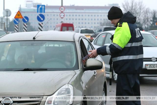В Минске ГАИ провела рейд по выявлению нетрезвых водителей