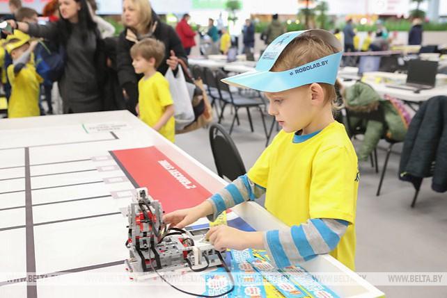 Соревнования по робототехнике прошли в Минске
