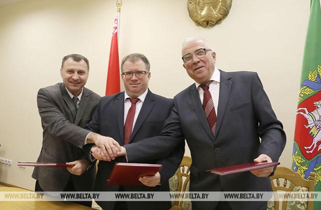 Соглашение между нанимателями, профсоюзами и властью подписано в Витебске