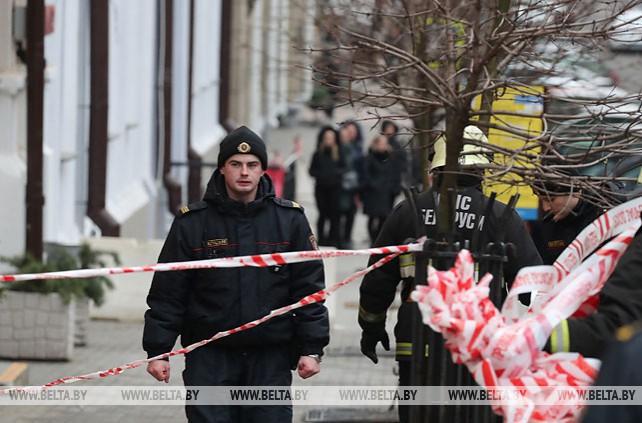 Неизвестный сообщил о минировании здания на ул.Ленина в Минске