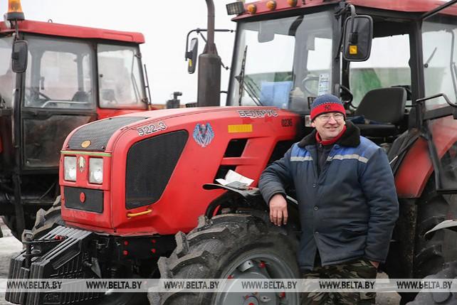 В Брестской области проверяют готовность сельхозтехники к посевной
