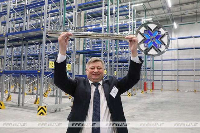 Автомобильный логистический терминал открылся в Оршанском районе