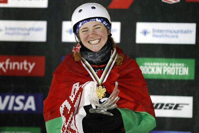 Александра Романовская завоевала золотую медаль на ЧМ по фристайлу в США