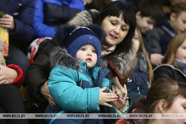 Хоккейная команда Президента Беларуси победила в матче любительского турнира