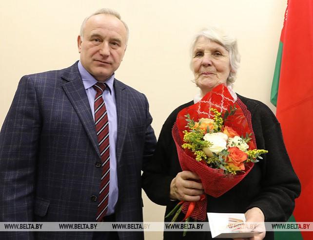 Торжественный прием воинов-интернационалистов прошел в Витебском облисполкоме