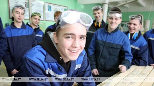 Ресурсный центр работает на базе Мозырского лицея строителей