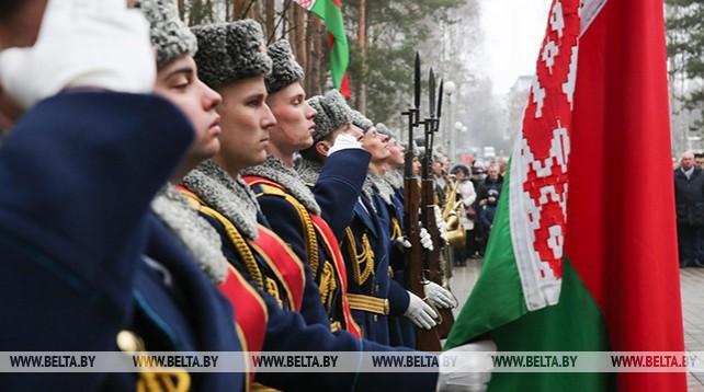 Митинг-реквием памяти погибших солдат в Афганистане прошел в Бресте