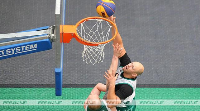 Минск принимает международный турнир по баскетболу 3х3