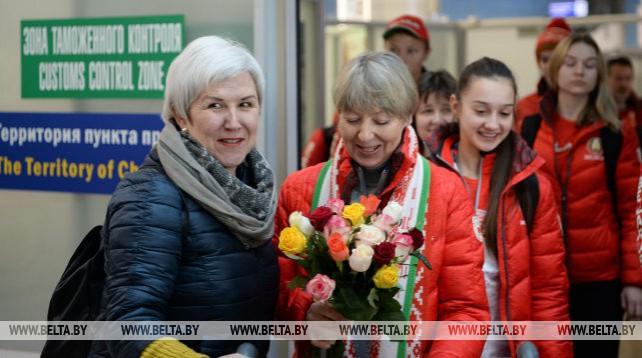 Белорусская спортивная делегация вернулась из Сараево