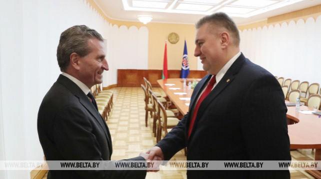 Кравченко встретился с еврокомиссаром