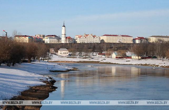 Днепр в Могилеве освободился ото льда