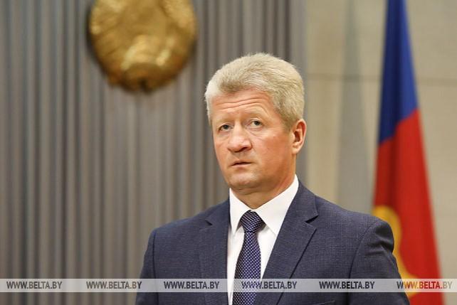 Снопков представил аппарату Брестского облисполкома нового помощника Президента