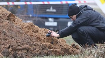 Мину времен войны нашли при прокладке коммуникаций в Гродно