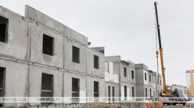 В Мозыре начали строительство первого в городе танхауса