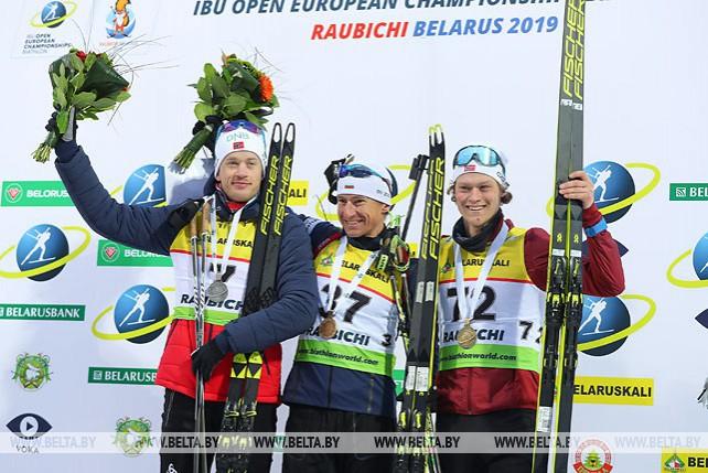 Болгарский биатлонист Красимир Анев выиграл индивидуальную гонку ЧЕ