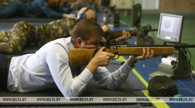 В Гродно проходит турнир по стрельбе среди силовиков