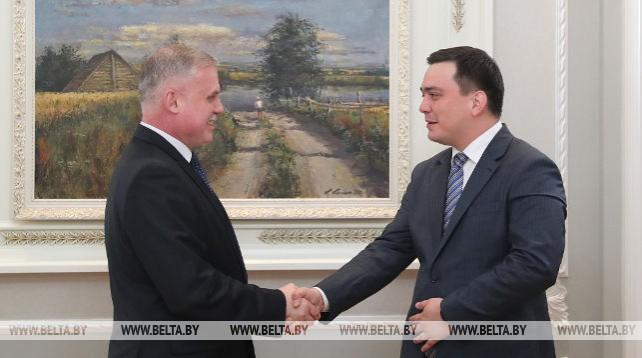 Беларусь и Узбекистан обсудили реализацию плана сотрудничества в области безопасности