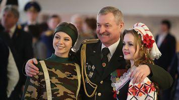 Торжественное собрание в честь Дня защитников Отечества прошло во Дворце Республики
