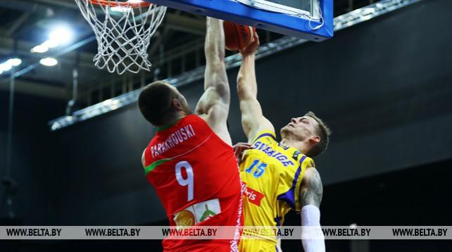 Белорусские баскетболисты победили шведов в квалификации ЧЕ