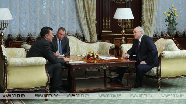 Лукашенко отмечает хорошую динамику в отношениях Беларуси и Кыргызстана