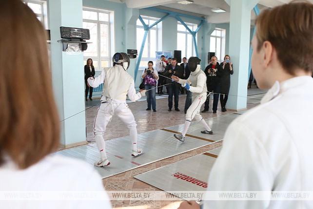 Зал для занятия фехтованием открылся в Гродно
