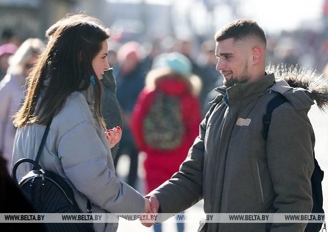 Весеннее настроение в Минске