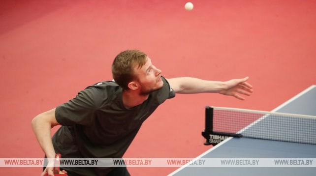 Личный чемпионат Беларуси по настольному теннису прошел в Минске