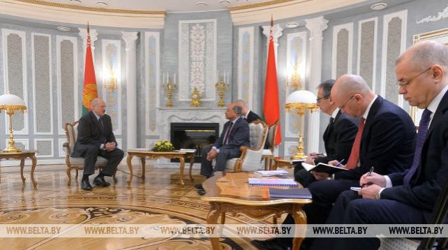 Лукашенко встретился с президентом Европейского банка реконструкции и развития