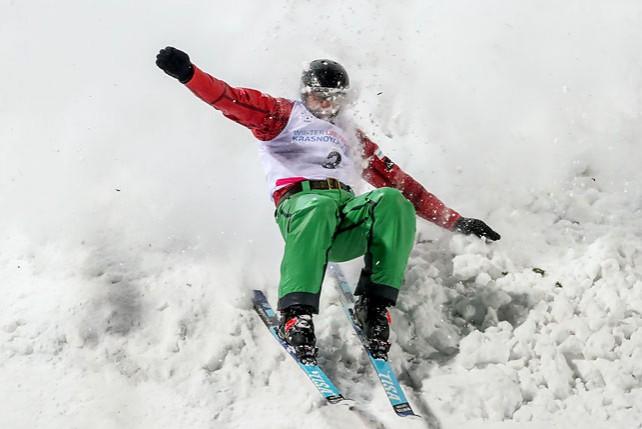 Белорусские фристайлисты завоевали золото в командных прыжках на Универсиаде в Красноярске