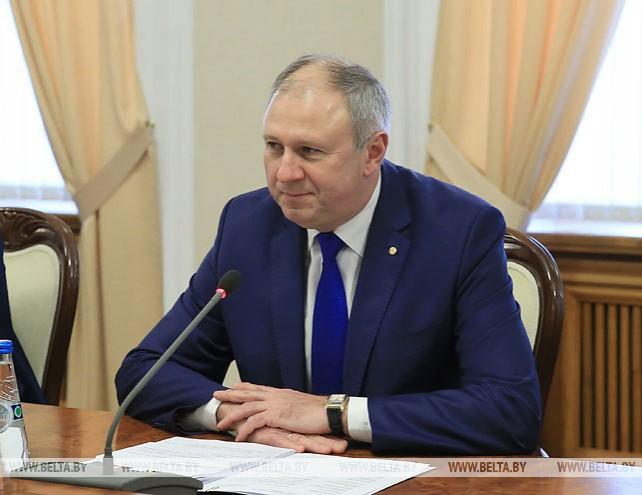 Румас встретился с президентом ЕБРР